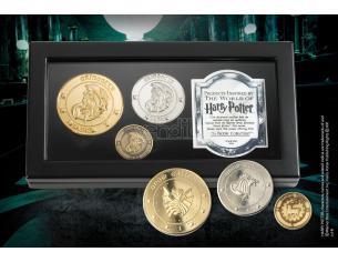 Harry Potter Set Monete Della Banca Di Gringotts Noble Collection