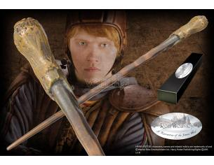 Harry Potter Bacchetta Magica Ron Weasley Character Noble Collection