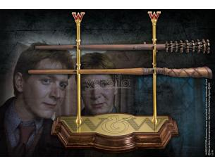 Harry Potter Bacchetta Magica Gemelli Weasley Espositore Noble