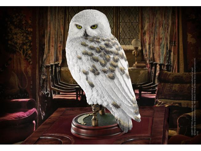 Harry Potter Statua Con Piedistallo Edvige Replica 24 Cm Noble Collection