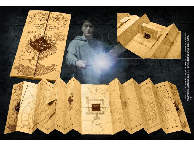 Harry Potter Mappa Del Malandrino Replica 1:1 - Noble Collection