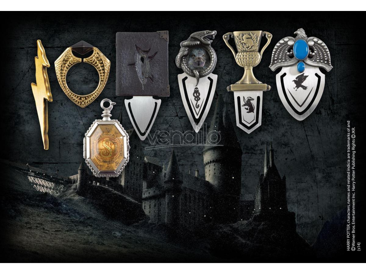 Harry Potter Set Di Segnalibri Dei 7 Horcrux Di Voldemort Noble Collection