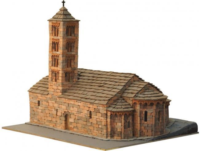 Domus Kits 40503 ROMANICA 26 Sta. Maria de Taùll 1:87 Kit Modellino