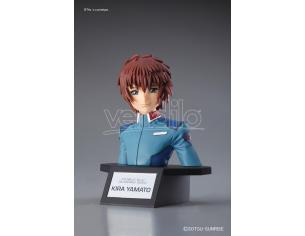 Bandai Model Kit Figura Rise Gundam Seed Kira Yamato Busto Model Kit