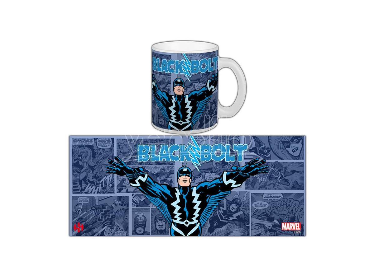 Semic Marvel Retro S.2 Black Bolt Tazza