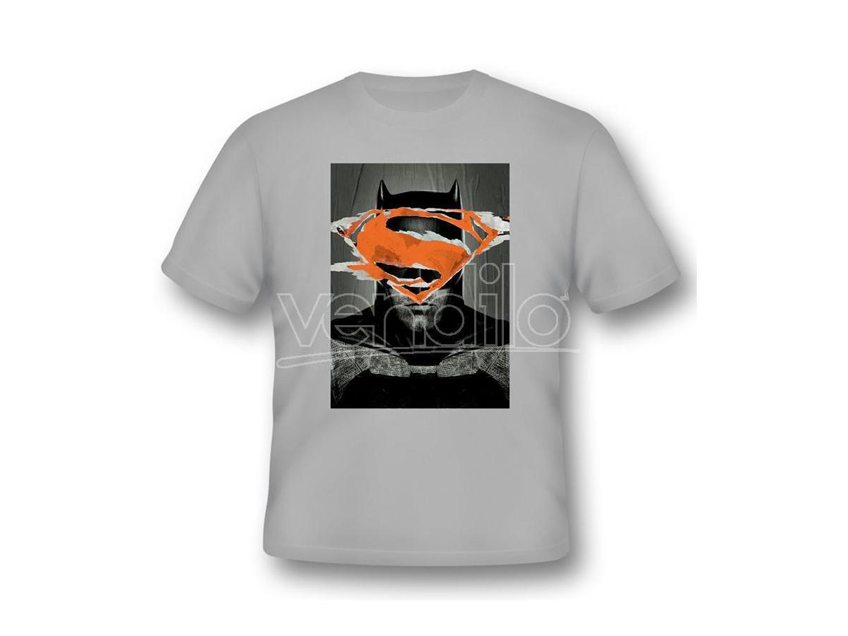 2BNERD T-SHIRT BATMAN V SUPERMAN BATMAN POSTER TAGLIA L T-SHIRT