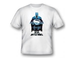 2BNERD T-SHIRT BATMAN V SUPERMAN EPIC BATTLE RAGES TAGLIA M T-SHIRT