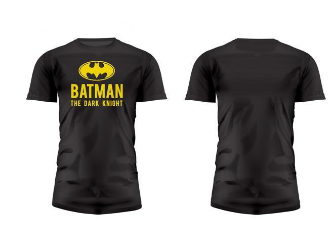 SD TOYS T-SHIRT DC COMICS BATMAN DARK K LOGO NERA TAGLIA XXL T-SHIRT