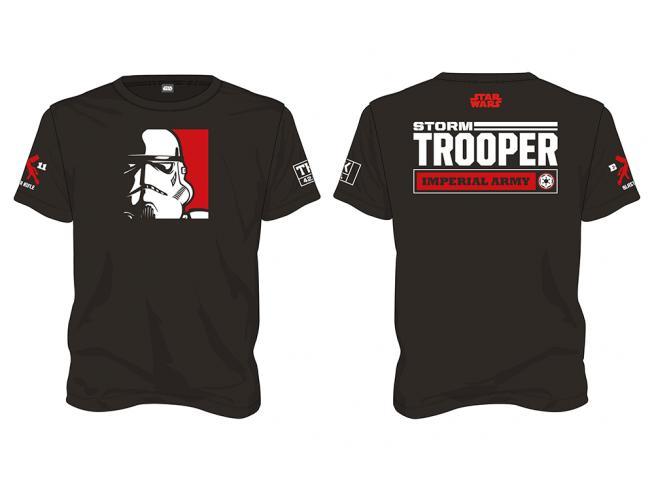 Sd Toys T-shirt Star Wars Stormtrooper Imperial Army Nera Taglia S T-shirt