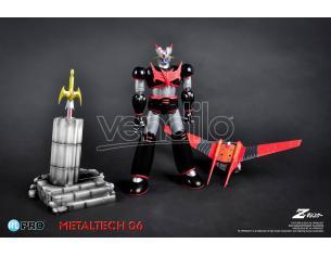 High Dream Mazinger Z Metallotech 06 Black Ver Action Figure