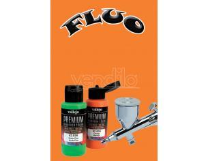 Vallejo Premium Airbrush Arancione Fluo 62033 Colori VALLEJO