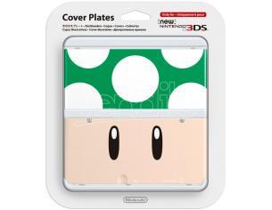 NINTENDO NEW 3DS COVER FUNGO 1 UP CUSTODIE/PROTEZIONE