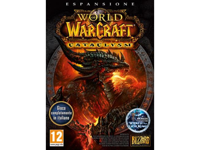 WORLD OF WARCRAFT CATACLYSM MMORPG - GIOCHI PC