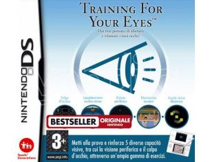 TRAINING FOR YOUR EYES EDUCATIVO - NINTENDO DS