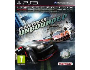 Ridge Racer Unbounded Edizione Limitata Guida/racing - Playstation 3