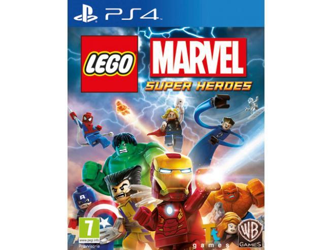 LEGO MARVEL SUPERHEROES AZIONE AVVENTURA - PLAYSTATION 4