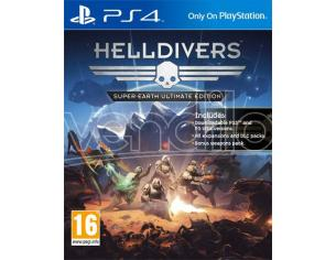 HELLDIVERS: SUPER-EARTH ULTIMATE ED. SPARATUTTO - PLAYSTATION 4