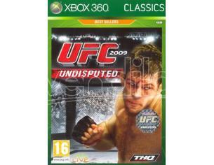 UFC UNDISPUTED 2009 CLASSIC SPORTIVO - XBOX 360