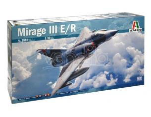 Italeri IT2510 MIRAGE III E/R C/SUPER DECALS x 6 VERSIONI + FOTOINCISIONI KIT 1:32 Modellino