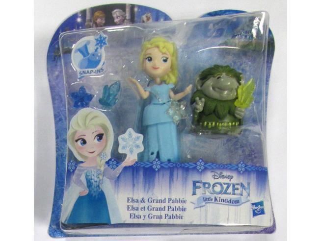 Frozen Small Bambola Elsa E Pabbie Disney - Bambole Accessori
