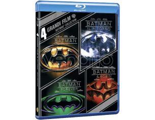 4 GRANDI FILM - BATMAN COLLECTION AZIONE AVVENTURA BLU-RAY