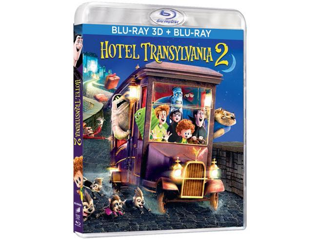 HOTEL TRANSYLVANIA 2 3D ANIMAZIONE - BLU-RAY