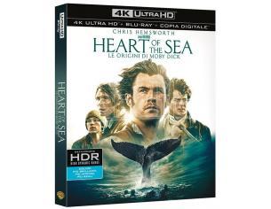 HEART OF THE SEA-ORIG. MOBY DICK 4K UHD DRAMMATICO - BLU-RAY