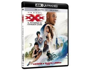 XXX:IL RITORNO DI XANDER CAGE 4K+BD AZIONE AVVENTURA - BLU-RAY