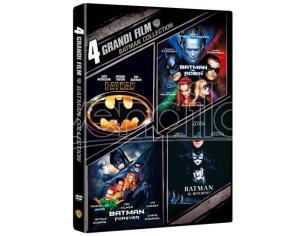 4 GRANDI FILM: BATMAN COLLECTION COLLEZIONE - DVD