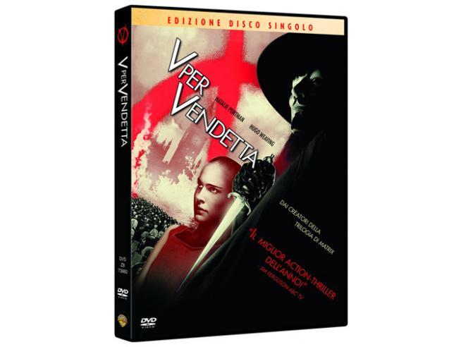 V PER VENDETTA AZIONE AVVENTURA - DVD