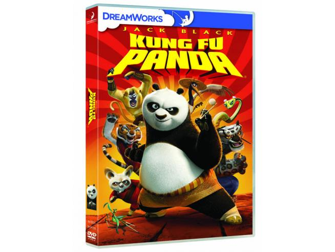 KUNG FU PANDA ANIMAZIONE - DVD
