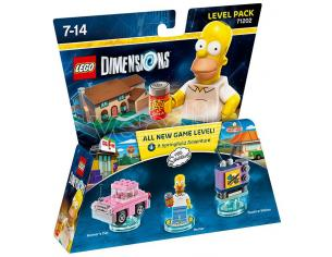 LEGO DIMENSIONS LEVEL PACK SIMPSON HOMER - TOYS TO LIFE