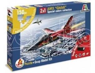 Italeri AS854 AMX GHIBLI SPECIAL COLORS COLLECTION 1:100 Kit Modellino