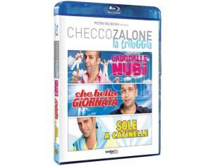 """CHECCO ZALONE - """"LA TRILOGGIA"""" COMMEDIA BLU-RAY"""