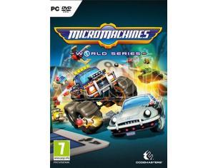 MICRO MACHINES WORLD SERIES GUIDA/RACING - GIOCHI PC