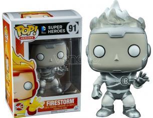 Super Heroes Funko POP DC Comics Firestorm Lanterna Bianca 9 cm Ediz. Limitata
