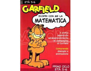 GARFIELD - MATEMATICA 5 6 ANNI EDUCATIVO GIOCHI PC