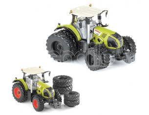 Ros Rs30158 Trattore Claas Axion 870 Con Double Wheels 1:32 Modellino