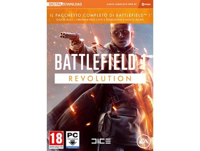 BATTLEFIELD 1 REVOLUTION SPARATUTTO - GIOCHI PC