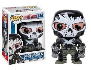Capitan America Civil War Funko POP Marvel Vinile Figura Crossbones 9 cm