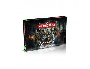 Gioco da Tavolo Monopoly Assassins Creed Syndicate Versione Italiana Winning Moves