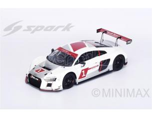 Spark Model S12007 AUDI R8 LMS ULTRA PRESENTATION 2015 1:12 Modellino
