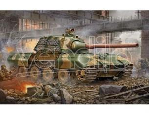 TRUMPETER 00384 GERMAN E 100 SUPER HEAVY TANK Modellino