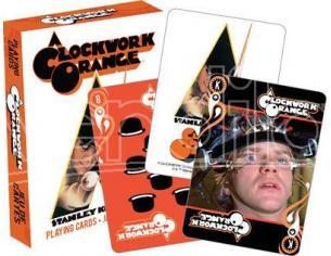 Aquarius Ent A Clockwork Arancione Playing Cards Carte Da Gioco