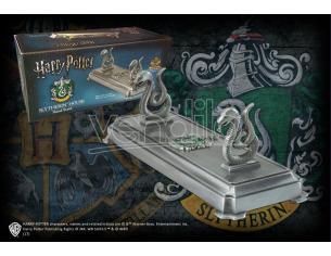 Harry Potter Porta Bacchetta Con Stemma Serpeverde Noble Collection