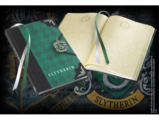 Harry Potter Agenda Diario Con Stemma Serpeverde Noble Collection