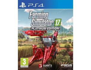 FARMING SIMULATOR 2017 PLATINUM EDITION SIMULAZIONE - PLAYSTATION 4