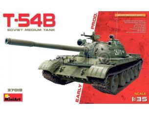 Miniart MIN37019 T-54B SOVIET MEDIUM TANK EARLY PRODUCTION KIT 1:35 Modellino