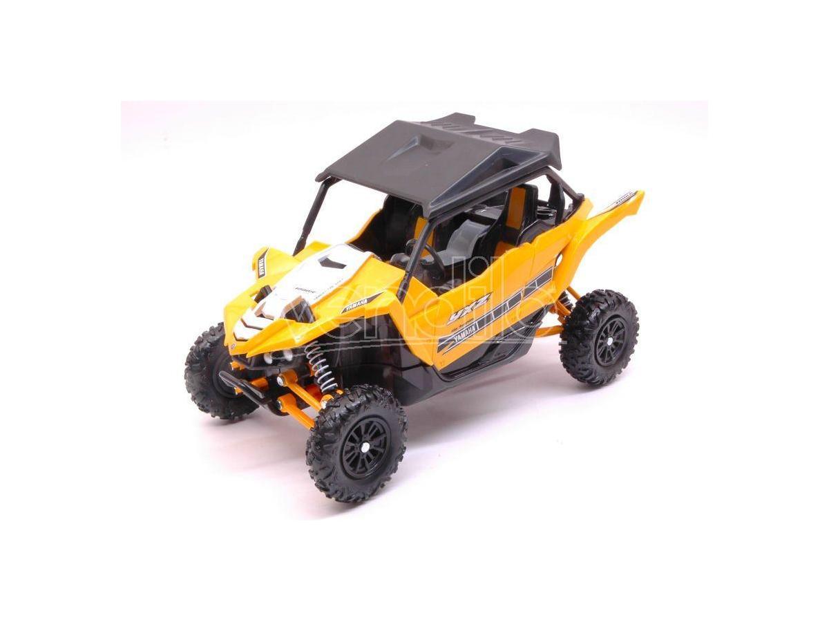 New Ray NY57813Y YAMAHA YXZ1000 ATV 2016 YELLOW 1:18 Modellino