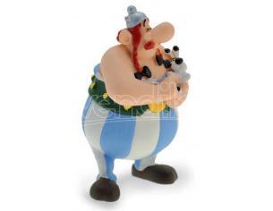 Plastoy Asterix Obelix Con Idefix Portachiavi